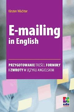 E-mailing in English - Kirsten Wächter - ebook