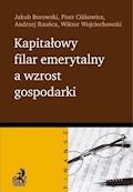 Kapitałowy filar emerytalny a wzrost gospodarki - Jakub Borowski, Piotr Ciżkowicz, Andrzej Rzońca - ebook