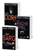 Im Angesicht des Grauens: Die Bestseller »Der Sarg«, »Das Rachespiel« und »Das Dorf« in einem E-Book - Arno Strobel - E-Book