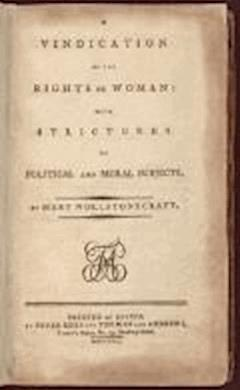 A Vindication of the Rights of Woman - Mary Wollstonecraft - ebook