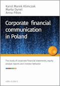 Corporate financial communication in Poland - Karol M. Klimczak, Marta Dynel, Anna Pikos - ebook