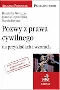Pozwy z prawa cywilnego na przykładach i wzorach - Marcin Derlacz, Joanna Gręndzińska, Dominika Wetoszka - ebook