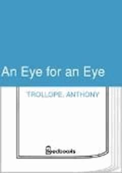 An Eye for an Eye - Anthony Trollope - ebook