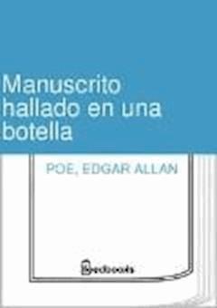 Manuscrito hallado en una botella - Edgar Allan Poe - ebook