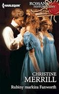 Rubiny markiza Fanworth - Christine Merrill - ebook