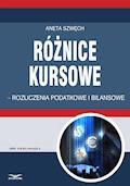 Różnice kursowe – rozliczenia podatkowe i bilansowe - Aneta Szwęch - ebook
