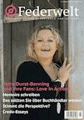 Federwelt 132, 05-2018, Oktober 2018 - Petra Durst-Benning - E-Book