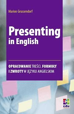 Presenting in English - Marion Grussendorf - ebook