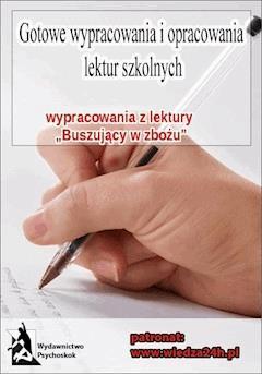 """Wypracowania – J. D. Salinger """"Buszujący w zbożu"""" - Opracowanie zbiorowe - ebook"""