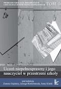 Uczeń niepełnosprawny i jego nauczyciel w przestrzeni szkoły - Zenon Gajdzica, Jerzy Rottermund, Anna Klinik - ebook