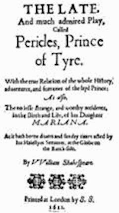 Pericles, Prince of Tyre - William Shakespeare - ebook