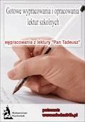 """Wypracowania. Adam Mickiewicz """"Pan Tadeusz"""" - Opracowanie zbiorowe - ebook"""