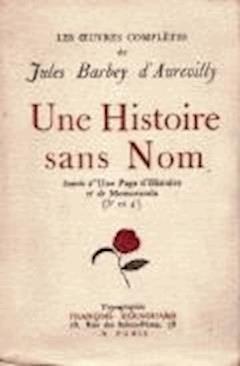 Une Histoire Sans Nom - Jules Amédée Barbey d'Aurevilly - ebook