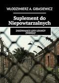 Suplement do Niepowtarzalnych - Włodzimierz Gibasiewicz - ebook