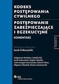 Kodeks postępowania cywilnego. Postępowanie zabezpieczające i egzekucyjne. Komentarz - Anna Stangret-Smoczyńska, Małgorzata Brulińska - ebook