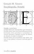 Encyklopedia. Notatki - Gonçalo M. Tavares - ebook