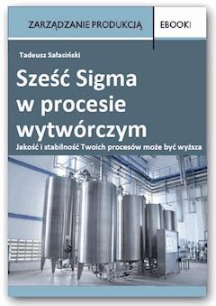 Sześć Sigma w procesie wytwórczym - Tadeusz Sałaciński - ebook