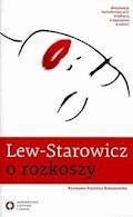 O rozkoszy - Zbigniew Lew-Starowicz - ebook