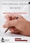 """Wypracowania - Daniel Naborowski """"Wybór wierszy"""" - Opracowanie zbiorowe - ebook"""