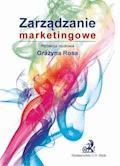 Zarządzanie marketingowe - Grażyna Rosa - ebook