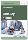 Obiekcje klienta - Anna Syrek-Kosowska - ebook