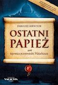 Ostatni papież - Dariusz Hryciuk - ebook