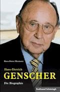 Hans-Dietrich Genscher - Hans-Dieter Heumann - E-Book