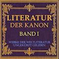 Literatur: Der Kanon - Gustav Schwab - Hörbüch