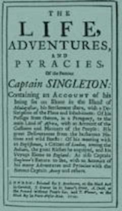 The Life, Adventures & Piracies of the Famous Captain Singleton - Daniel Defoe - ebook