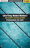 """Call of Duty: Modern Warfare 3 - opis przejścia i operacje specjalne - poradnik do gry - Michał """"Wolfen"""" Basta - ebook"""