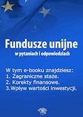 Fundusze unijne w pytaniach i odpowiedziach. Wydanie lipiec 2014 r. - Anna Śmigulska-Wojciechowska - ebook