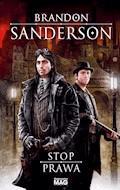 Stop prawa - Brandon Sanderson - ebook
