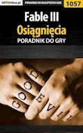 """Fable III - osiągnięcia - poradnik do gry - Michał """"Kwiść"""" Chwistek - ebook"""