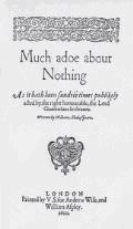 Much Ado About Nothing - William Shakespeare - ebook