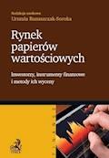 Rynek papierów wartościowych - Urszula Banaszczak-Soroka - ebook