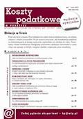 Koszty podatkowe w praktyce - wydanie specjalne: Wakacje w firmie - Mariusz Olech, dr Katarzyna Trzpioła - ebook