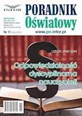 Odpowiedzialność dyscyplinarna nauczycieli - Leszek Jaworski - ebook