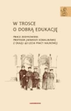 W trosce o dobrą edukację - dr Anna Janus-Sitarz - ebook