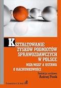 Kształtowanie zysków podmiotów sprawozdawczych w Polsce. MSR/MSSF a ustawa o rachunkowości - Andrzej Piosik - ebook