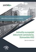 Jednolity europejski dokument zamówienia. Stanowisko KIO - Agata Hryc-Ląd, Agata Smerd - ebook