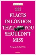 111 Places in London, that you shouldn't miss - John Sykes - E-Book
