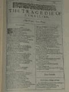 Cymbeline - William Shakespeare - ebook