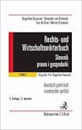 Rechts- und Wirtschaftswörterbuch. Słownik prawa i gospodarki. Tom 1 - Bogusław Banaszak, Alexander von Brünneck, Tina de Vries - ebook