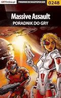 """Massive Assault - poradnik do gry - Borys """"Shuck"""" Zajączkowski - ebook"""