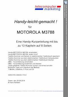 Motorola M3788-leicht-gemacht - Hans Rehbein - E-Book