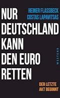 Nur Deutschland kann den Euro retten - Heiner Flassbeck - E-Book