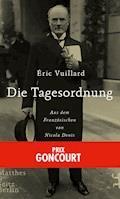 Die Tagesordnung - Éric Vuillard - E-Book