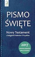 Pismo Święte. Nowy Testament z księgami Psalmów i Przysłów - Opracowanie zbiorowe - ebook