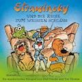 Strawinsky und die Reise zum Weißen Schloss (Strawinsky 4) - Olaf Franke - Hörbüch