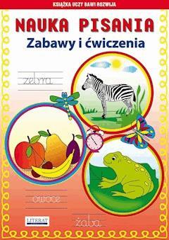 Nauka pisania. Zabawy i ćwiczenia. Zebra - Beata Guzowska - ebook